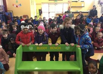 Our RINKA Buddy Bench Adventure in Athlone