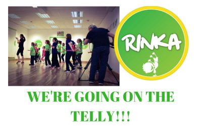 RINKA makes fitness child's play on RTE's NATIONWIDE