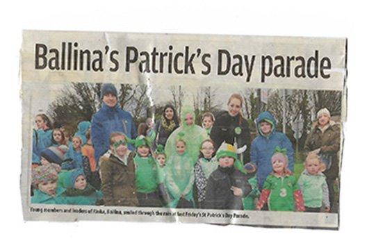 Ballina St Patrick's Day parade
