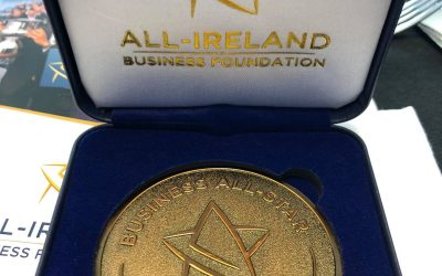 RINKA Ireland awarded the coveted Business All-Star Accreditation