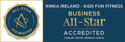 Business All Star Accredited march new RINKA Ireland - Kids Fun Fitness
