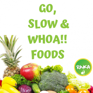 Go, Slow and WHOA foods