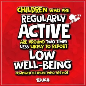 Benefits of exercise on children's mental health and wellbeing