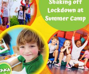 Shaking off Lockdown in Summer Camp
