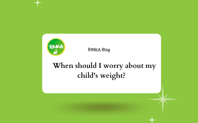 When should I worry about my child's weight?
