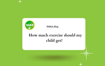 How much exercise should my child get?